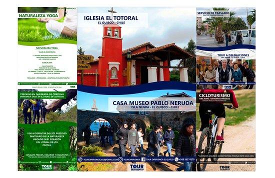 Destinos Turísticos de nuestra comuna de El Quisco.Circuitos de Cicloturismo y Trekking