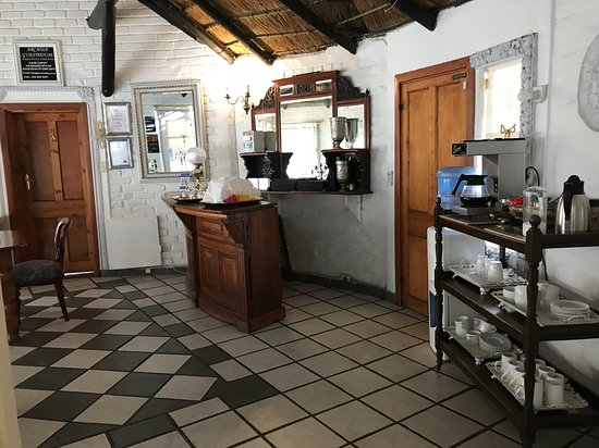 Kroonstad, South Africa: Filter coffee & other beverages at breakfast