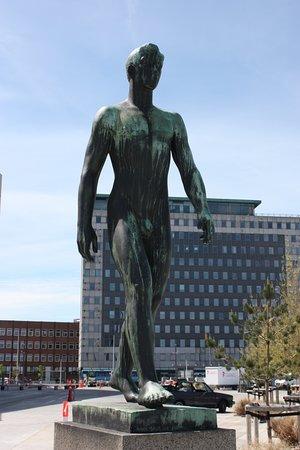 Skulpturen Sømanden