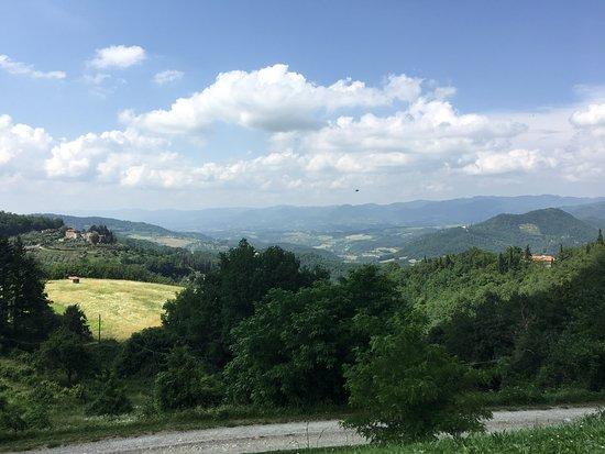 Dicomano, Italy: Stunning view