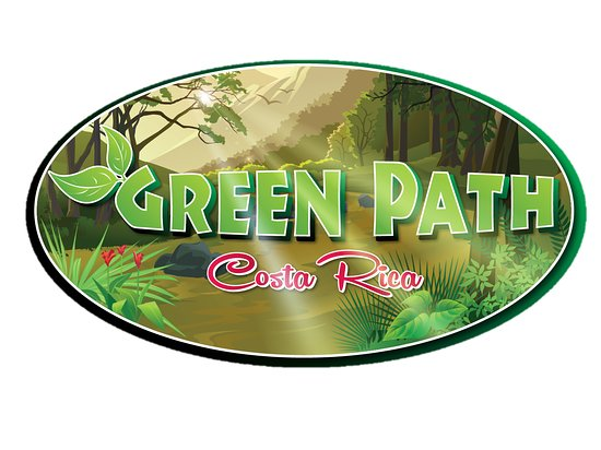 Tarcoles, Costa Rica: Green Path Logo