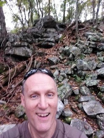 Massanutten Mountain: Another rock formation you must traverse on Massanutten Ridge Trail