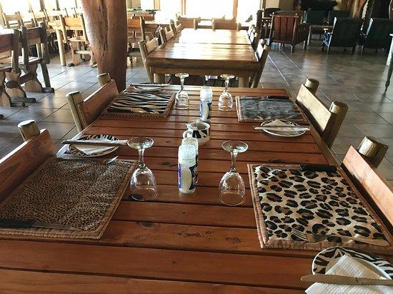 Komga, แอฟริกาใต้: Diningroom