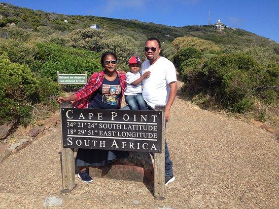Cape Town, Afrique du Sud: Cape of Good Hope private Tour through Chapman's Peak with this wonderful family