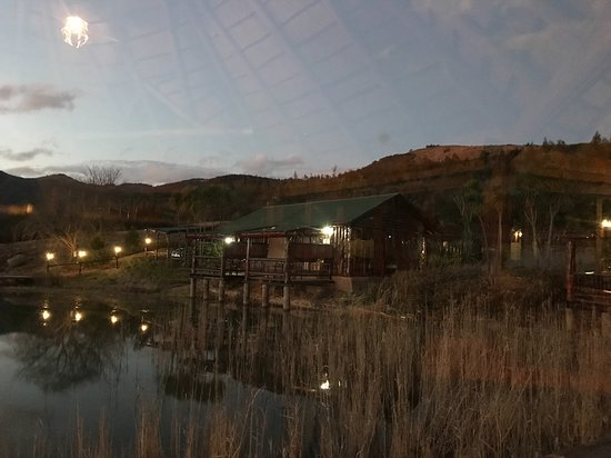 Kokstad, South Africa: The lovely setting at night ...