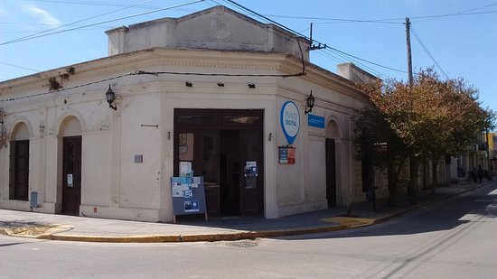 Magdalena, Argentina: Edificio del Museo Regional. Fue uno de los dos hoteles que había a principios de 1900.