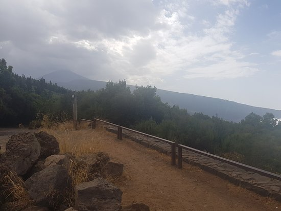Teide Cable Car: Weather after leaving