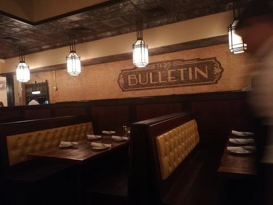 Ted's Bulletin: sala