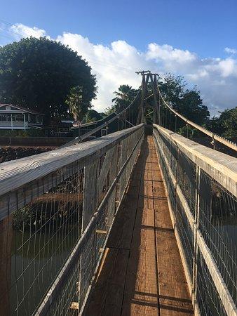 Not present. bridge resort swinging assured