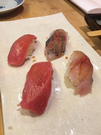Sushi Yasuda: An assortment of tuna (so good!)