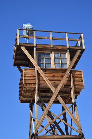 Independence, CA: Guard tower