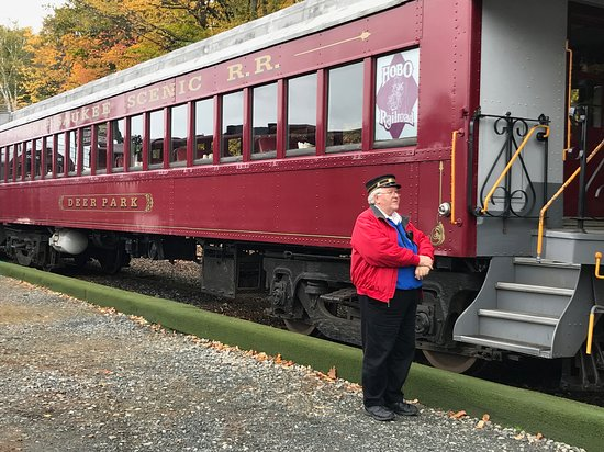 Winnipesaukee Scenic Railroad: This is the conductor who ignored our concerns.
