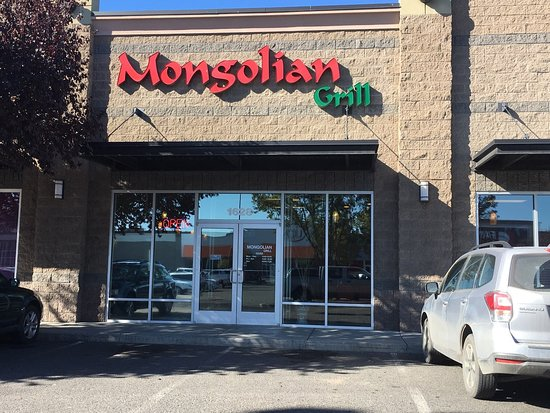 Union Gap, WA: Mongolian Grill in the mall