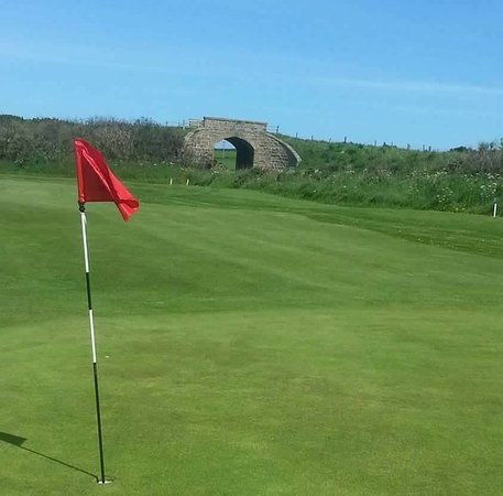 Buckie, UK: Part of the Original course