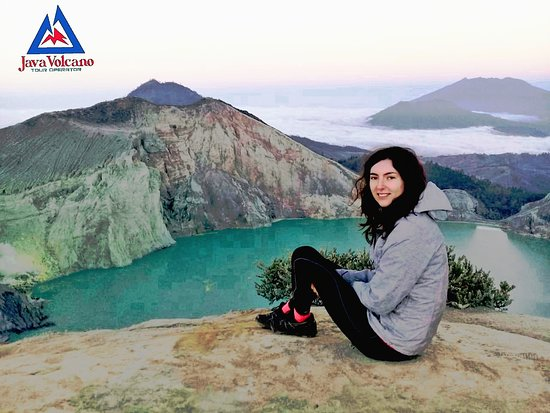Bondowoso, Indonesia: Mt. Ijen