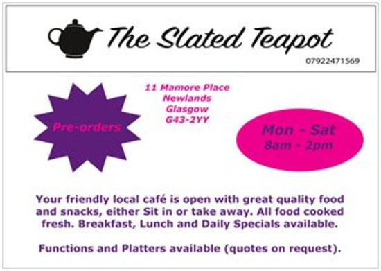 The Slated Teapot: Pre-orders available