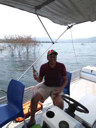 Lake Kariba, Sambia: fun fishing