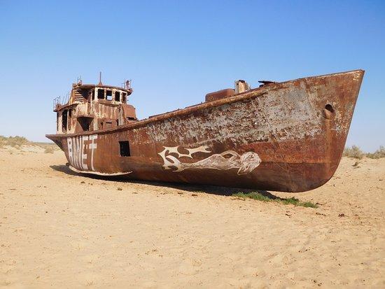 Muynak ship graveyard