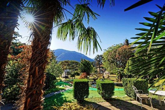 Castel Rundegg Hotel: Parkblick
