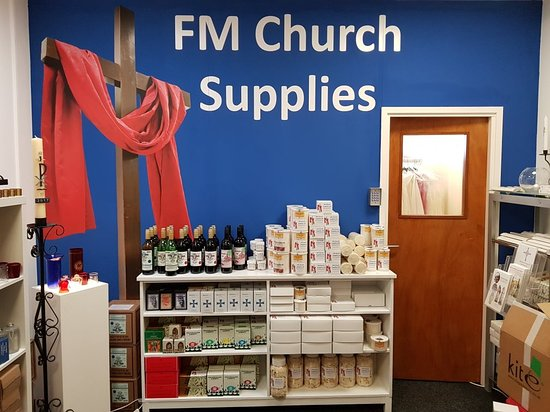 Dewsbury, UK: Church Supplies