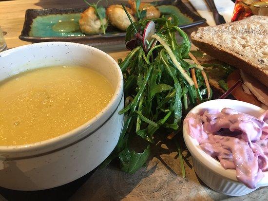 Killearn, UK: Sopa de verdura