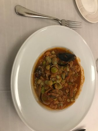 Alio, Hiszpania: Baby beans fisherman style