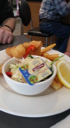Claremont, Austrália: Great portion size but a bit over priced.