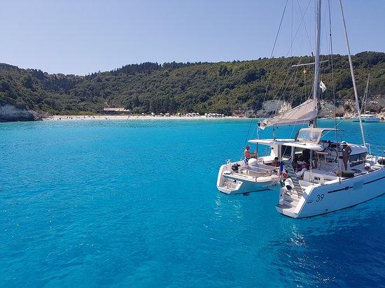 Antipaxos, กรีซ: Plaża