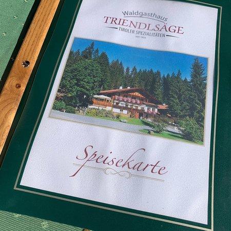 Waldgasthaus Triendlsage : Waldgasthaus Triendlsäge