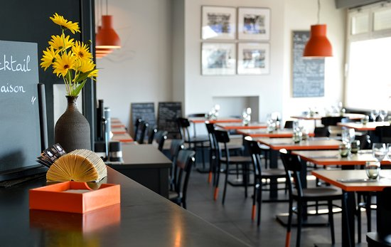 Plobannalec-Lesconil, فرنسا: Salle de restaurant