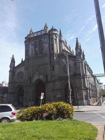 Talca, ชิลี: Frontis de la iglesia