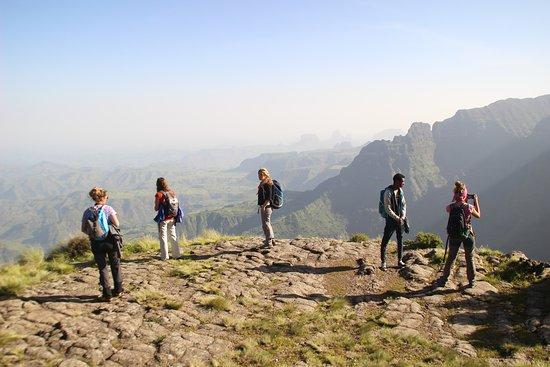 Debark, Αιθιοπία: Vistas sitien
