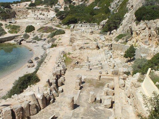 Perachora, Grécia: Le temple d'Héra