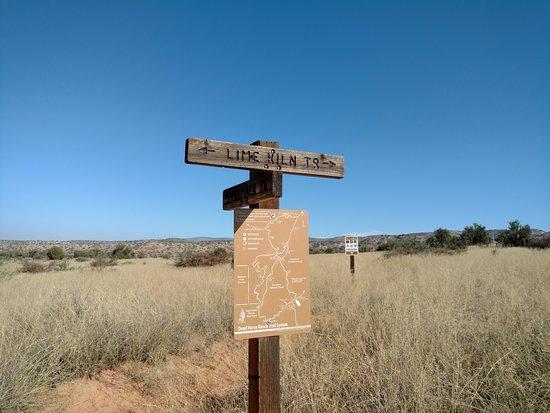Dead Horse Ranch State Park: Lime Kiln Trail Maker