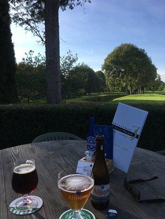 Rhoon, The Netherlands: Uitzicht op de golfbaan