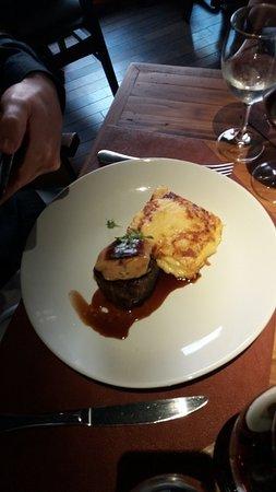 Sal Gastronomia: Filé com foie gras