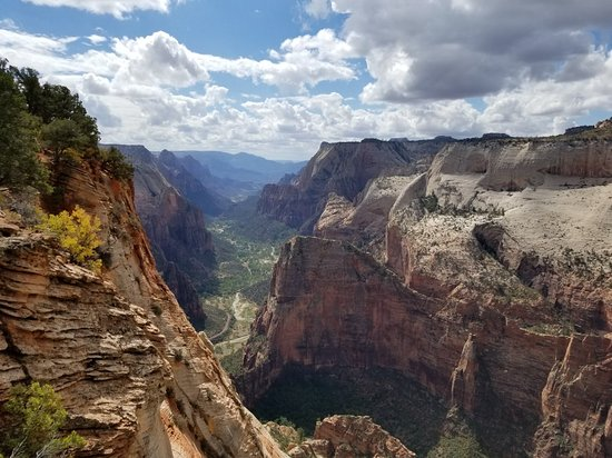 going up angels landing first thing in the morning followed by rh tripadvisor com