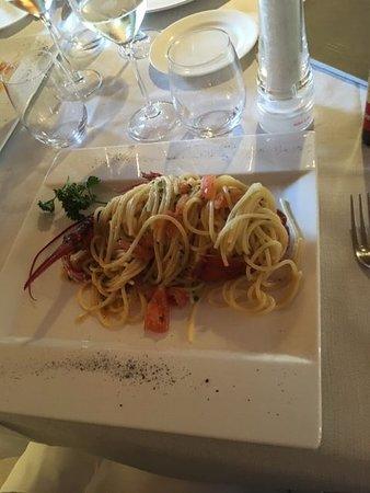 Sorisole, Italy: spaghetti all'astice - gradevoli sapori al palato