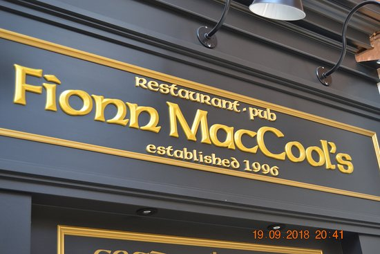 Fionn MacCool's Edmonton