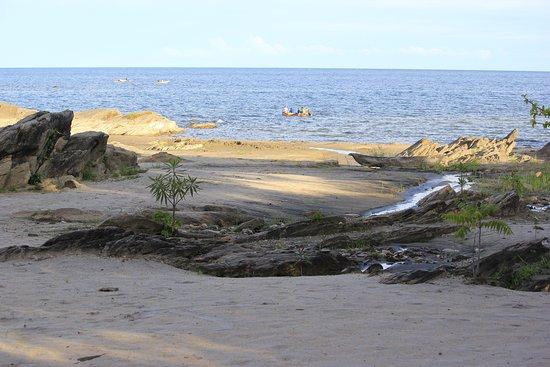 Chinteche, Malawi: a small part of the beach at sunga moyo