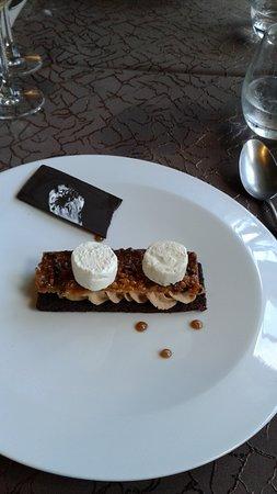 Villeneuve d'Aveyron, France : 8 mon gateau au chocolat