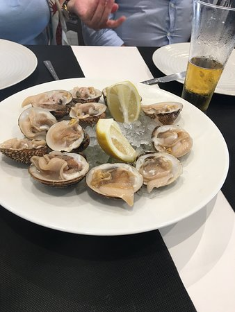 Palmones, Spain: Oysters