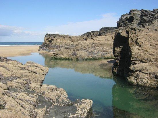 Hayle Towans Beach: Near Gwithian