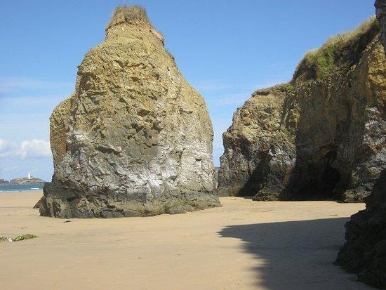 Hayle Towans Beach: The beach near Gwithian