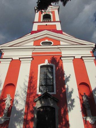 Naklo, سلوفينيا: facciata chiesa