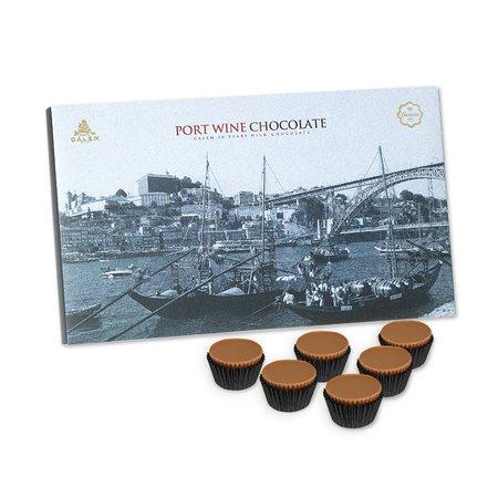 Caixa Bombons com Vinho do Porto 4x100grs