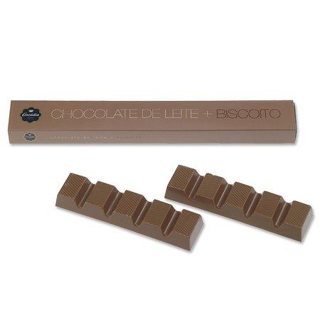 Arcadia Casa do Chocolate (Campus S. João): Caixa Tablete Chocolate Leite com Biscoito