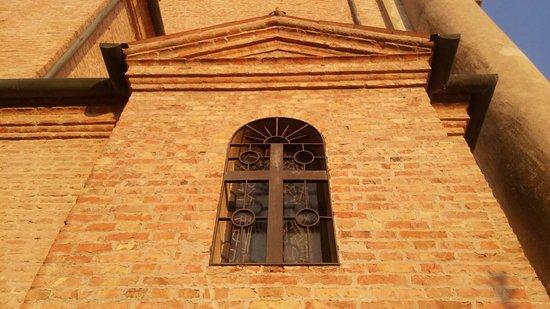 Boara Pisani, อิตาลี: Particolare della chiesa