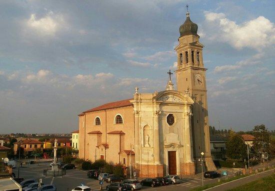 Boara Pisani, Włochy: Colpo d'occhio dall'argine