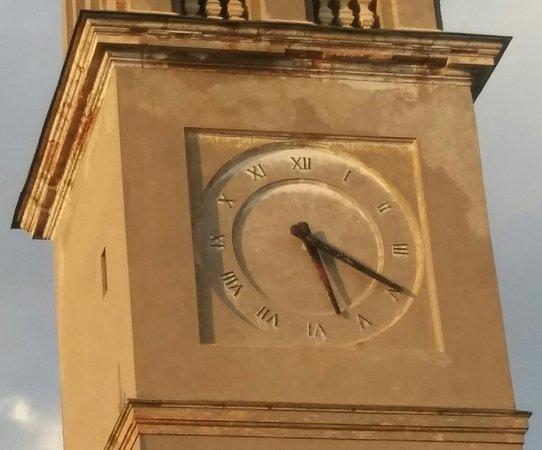 Boara Pisani, อิตาลี: Particolare del campanile